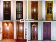 Двери  из натурального дерева для Вашего дома .