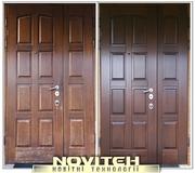 Реставрация дверей,  ремонт и реставрация мебели,  покраска лесниц,  ремонт кухоннх фасадов покраска.