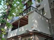 Ремонт,  расширение балконов и лоджий в Одессе